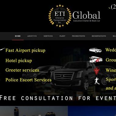 ETI Limousine & Charter Services wedding vendor preview