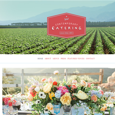 Contemporary Catering wedding vendor preview