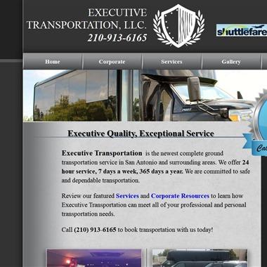 Executive Transportation SA wedding vendor preview