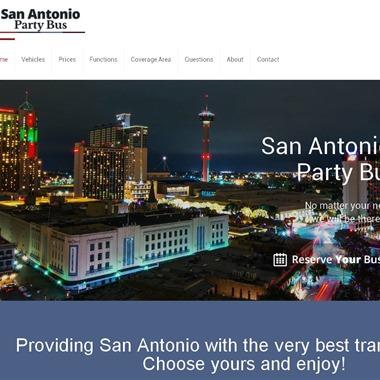 San Antonio Party Bus wedding vendor preview