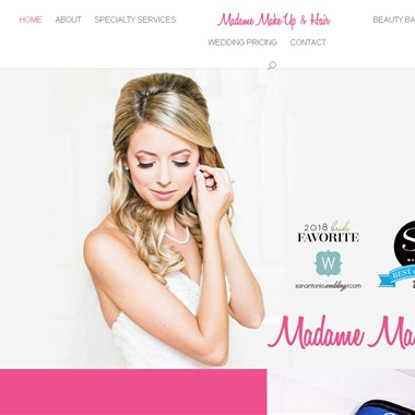 Madame Make-Up and Hair wedding vendor preview