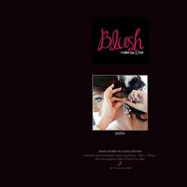 Blush Makeup & Hair wedding vendor preview