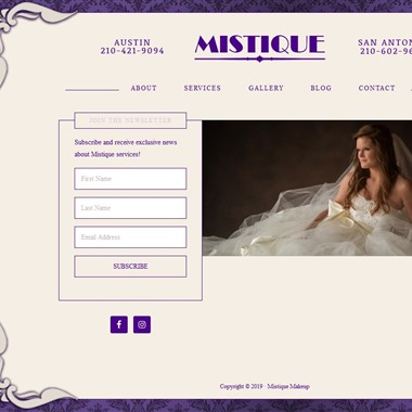 Mistique Salon wedding vendor preview
