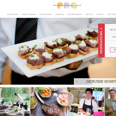 Patina Catering wedding vendor preview