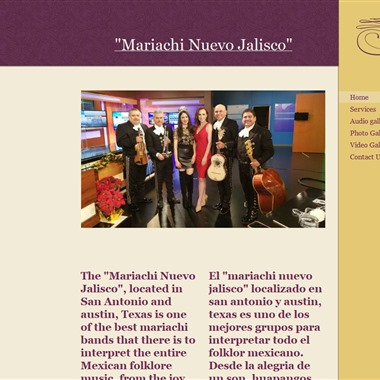 Mariachi Nuevo Jalisco wedding vendor preview
