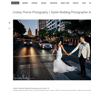 Lindsey Thorne Photography wedding vendor preview