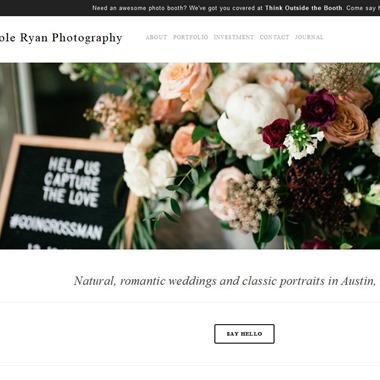 Nicole Ryan Photography wedding vendor preview