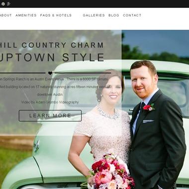 Pecan Springs Ranch wedding vendor preview