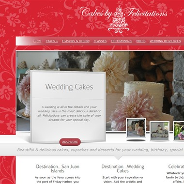 Cakes by Felicitations wedding vendor preview