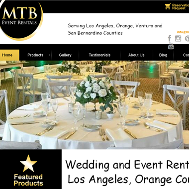 Meant To Be Event Rentals wedding vendor preview