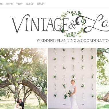 Vintage&Lace Weddings wedding vendor preview