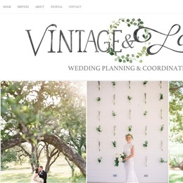 Vintage&Lace Weddings photo