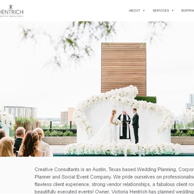 Creative Consultants wedding vendor preview