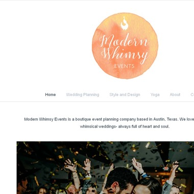 Modern Whimsy Events wedding vendor preview