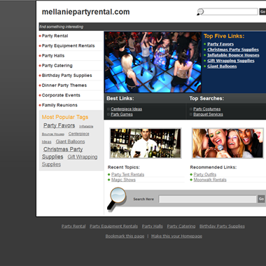 Mellanie Party Rental wedding vendor preview