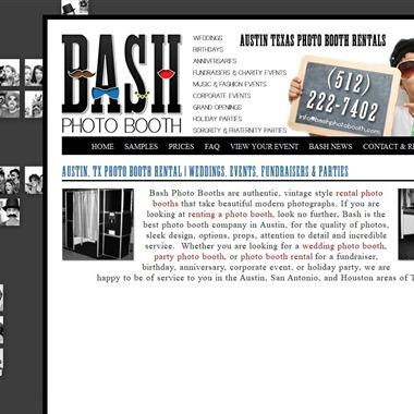 Bash Photo Booth wedding vendor preview