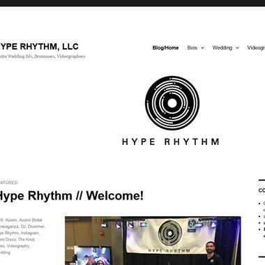 Hype Rhythm DJ wedding vendor preview