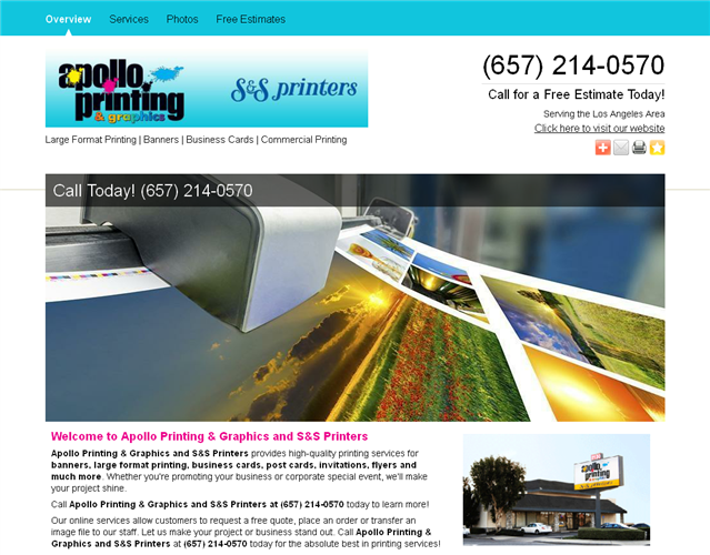 Apollo Printing  wedding vendor photo