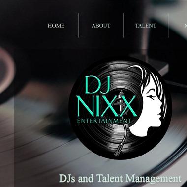 DJ Nixx Entertainment wedding vendor preview