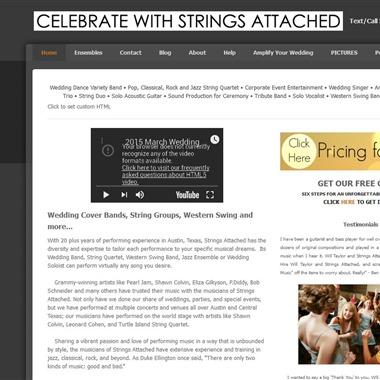 Will Taylor and Strings Attached wedding vendor preview