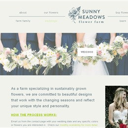 Photo of Sunny Meadows Flower Farm Test, a wedding Florists in Columbus