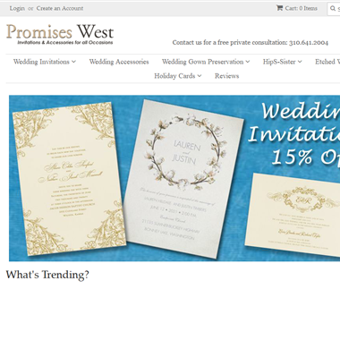 Promises West wedding vendor preview