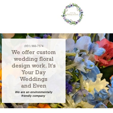 It's Your Day Weddings and Events wedding vendor preview