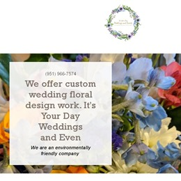 Photo of It's Your Day Weddings and Events Test, a wedding Florists in COLUMBUS