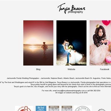 Tonya Beaver Photography wedding vendor preview