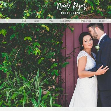 Nicole Piper Photography wedding vendor preview
