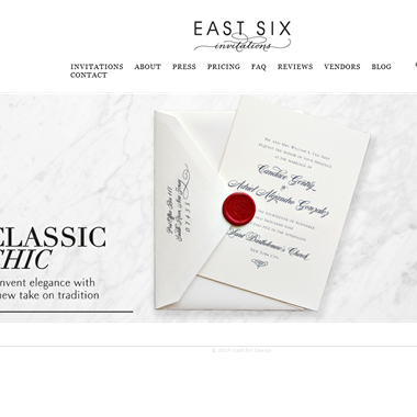 East Six  wedding vendor preview