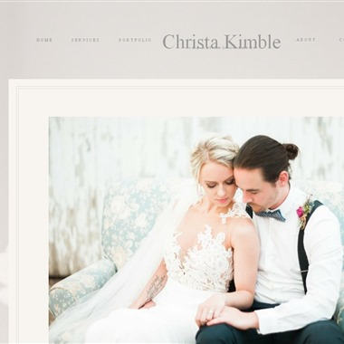 Christa Kimble Photography wedding vendor preview