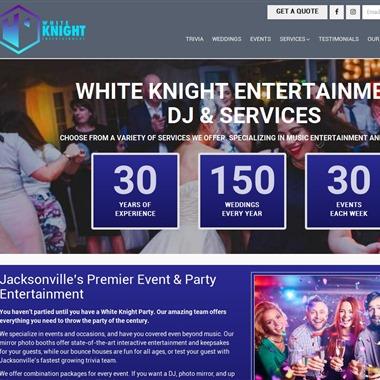White Knight Entertainment wedding vendor preview