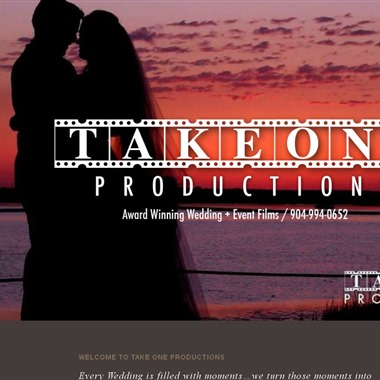 Take One Productions wedding vendor preview