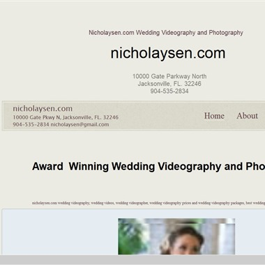 Brent Nicholaysen Videography wedding vendor preview