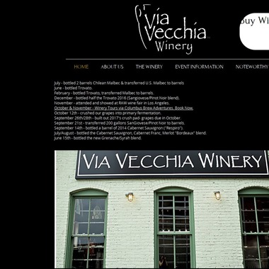 Via Vecchia Winery wedding vendor preview