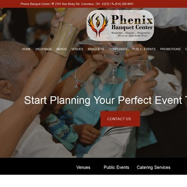 Phenix Banquet Center wedding vendor preview