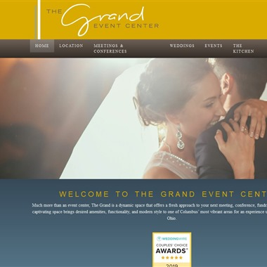The Grand Event Center at Grandview Yard wedding vendor preview