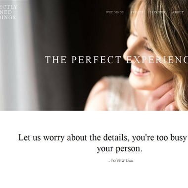 Perfectly Planned Weddings wedding vendor preview