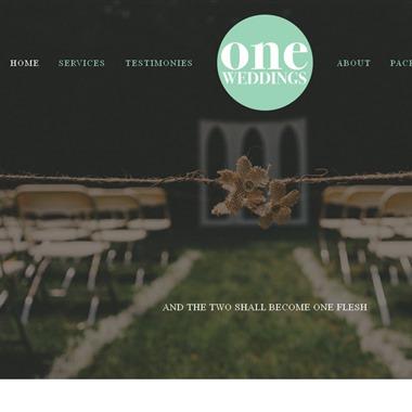 One Weddings wedding vendor preview