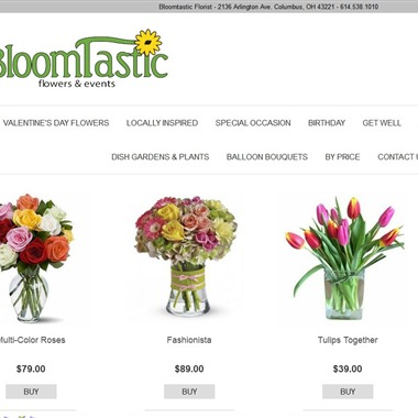 Bloomtastic Florist wedding vendor preview