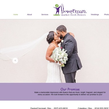 The Flowerman Columbus wedding vendor preview