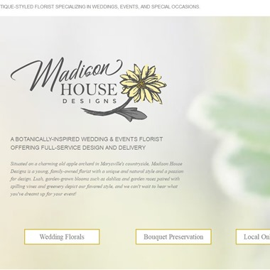 Madison House Designs wedding vendor preview