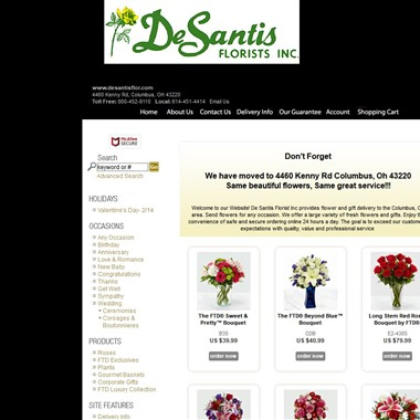 De Santis Florist Inc wedding vendor preview