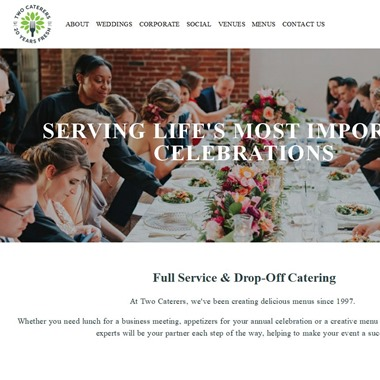 Two Caterers wedding vendor preview