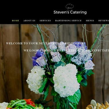 Steven's Catering wedding vendor preview