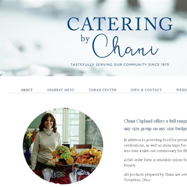 Catering By Chani wedding vendor preview