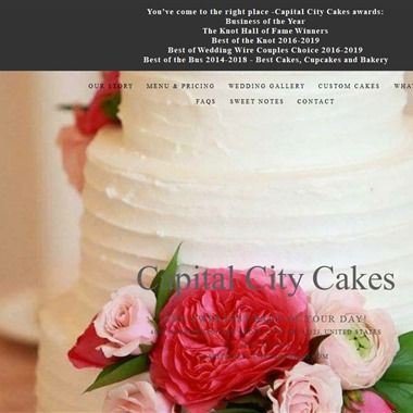 Capital City Cakes wedding vendor preview