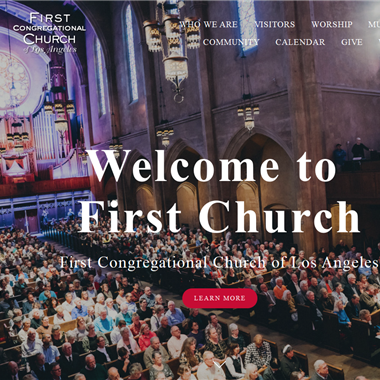 First Congregational Church of Los Angeles wedding vendor preview