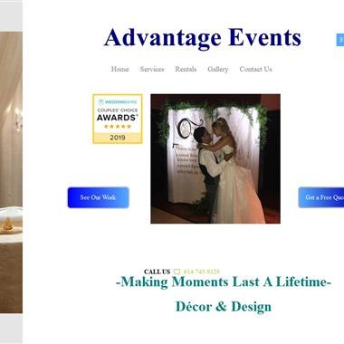 Advantage Events LLC wedding vendor preview